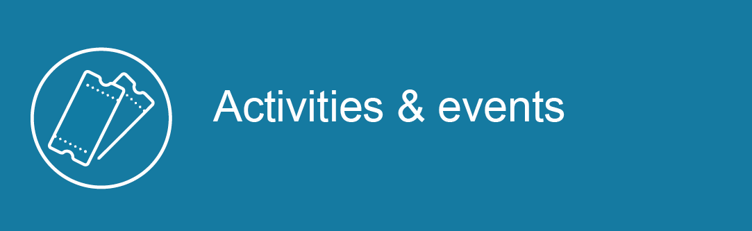 Search for activities & events