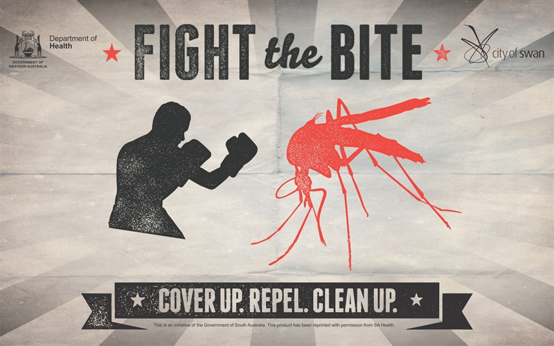 Department of Health, Fight the Bite - Cover up. Repel. Clean up campaign