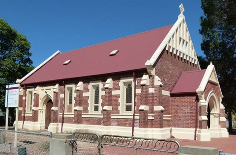 Church of the Good Shepherd: 1909 Federation Gothic style
